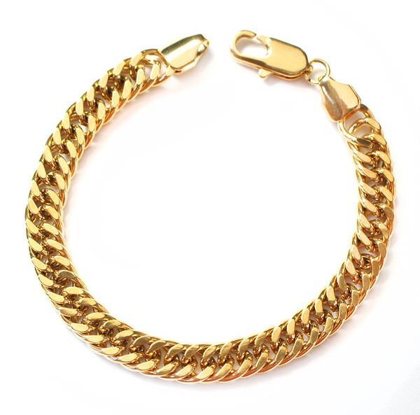 złote bransoletki na rękę