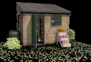 Usługi budowy domków narzędziowych