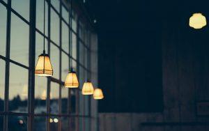 Szklane lampy Italux