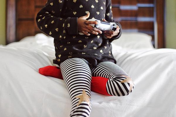 podkolanówki dziecięce bawełniane