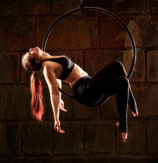 akrobatyczny występ