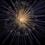 Sylwestrowa zabawa przy fajerwerkach